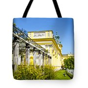 Garden Entry Wilanow Palace - Warsaw Tote Bag
