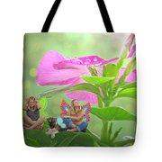 Garden Fairy Friends Tote Bag