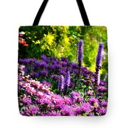Garden Flowers 3 Tote Bag
