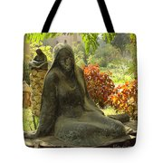 Garden Of Statues Egypt Tote Bag