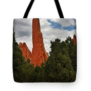 Garden Of The Gods - A Breathtaking Natural Wonder Tote Bag by Christine Till
