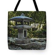 Garden Pagoda Tote Bag