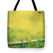 Garden Scene After Lightroom Tote Bag