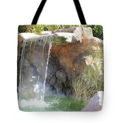 Garden Waterfall Tote Bag