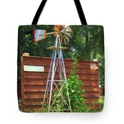 Garden Windmill Tote Bag