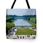 Gardens At Palace Of Versailles France Tote Bag
