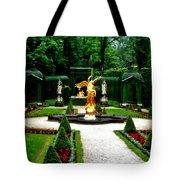 Gardens Of Linderhof Castle II Tote Bag