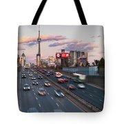 Gardiner Expressway Toronto Tote Bag
