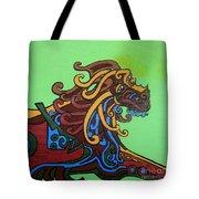 Gargoyle Dog Tote Bag