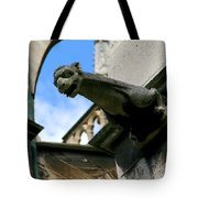 Gargoyle Of Saint Denis Tote Bag