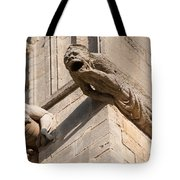 Gargoyles On Ely Cathedral Tote Bag