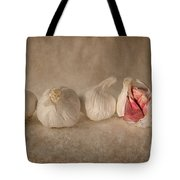 Garlic And Textures Tote Bag