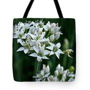 Garlic Chive Blooms Tote Bag