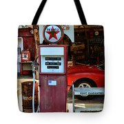 Gas Pump - Texaco Gas Globe Tote Bag
