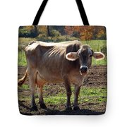 Gasping Cow Tote Bag