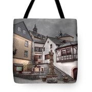 Gasthaus And Church-colour Tote Bag