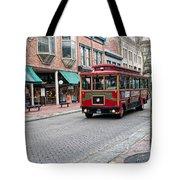 Gastown Street Scene Tote Bag