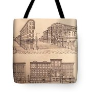 Gastown Vancouver Canada Prints Tote Bag