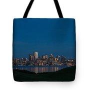 Gasworks Seattle Citiscape Tote Bag
