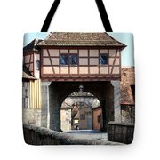 Gate House - Rothenburg Tote Bag