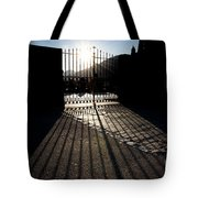 Gate In Backlight Tote Bag