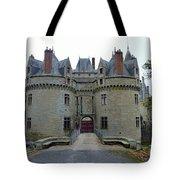 Gate To Chateau De La Bretesche Tote Bag