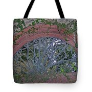 Gate To The Courtyard Tote Bag