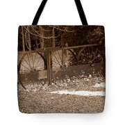 Gate To The Past Tote Bag
