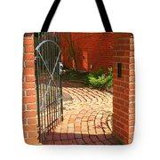Gateway To A Garden Tote Bag