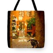 Gateway To Backyard Beauty Tote Bag