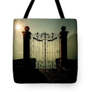 Gateway To The Lake Tote Bag by Joana Kruse