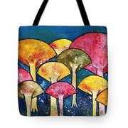 Gathering Of The Colors Tote Bag