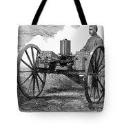 Gatling Gun, 1872 Tote Bag by Granger