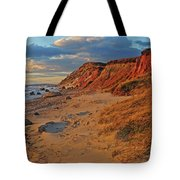 Gayhead Cliffs Marthas Vineyard Tote Bag