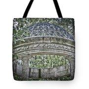 Gazebo At Longwood Gardens Tote Bag