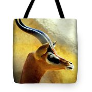 Gazelle Tote Bag by Karen Wiles