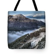 Gazing Over The Pacific Tote Bag