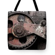 Gear Wheel Tote Bag