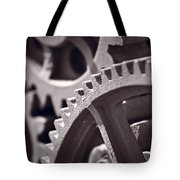 Gears Number 3 Tote Bag