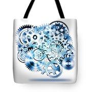 Gears Wheels Design  Tote Bag