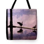 Geese At Dawn Tote Bag