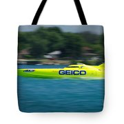 Geico Offshore Racer Tote Bag