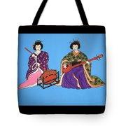 Geisha Serenade Tote Bag