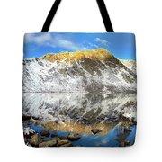 Geissler Mountain In Linkins Lake Tote Bag