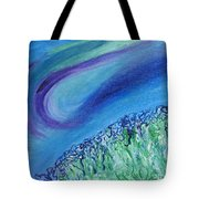 Gel Planet Tote Bag by Ruth Collis