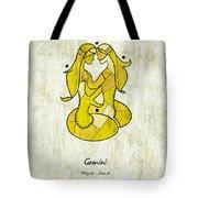 Gemini Artwork Tote Bag