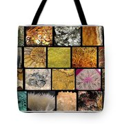 Gemstones And More Collage Tote Bag