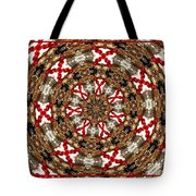 Gemstones And Silver Jewelry Kaleidoscope Tote Bag