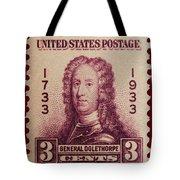 General James Oglethorpe Postage Stamp Tote Bag