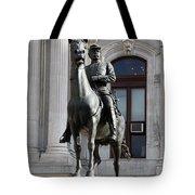 General Mc Clellan Statue - Philadelphia Tote Bag
